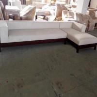 现代客厅大小户型转角沙发 实木布艺沙发组合 定制