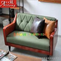 酒店客厅休闲时尚布艺沙发 日式单人双人三人沙发 实木沙发