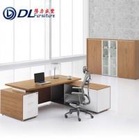 贵州阳办公家具时尚老板桌办公桌现代班台主管桌经理桌小型经理台