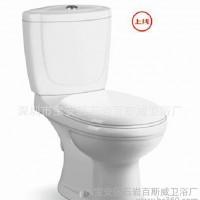 自产自销澳洲WaterMark认证WELS分体直冲式墙排陶瓷马桶WC价格