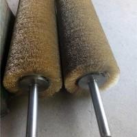 供应镀铜钢丝刷辊,间距钢丝刷辊,地板厂专用钢丝刷辊