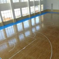 运动木地板 篮球馆运动地板、实木运动地板工程  体育木地板