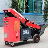 漳州有施工海荣模块建房正在使用的微型浇筑泵施工现场