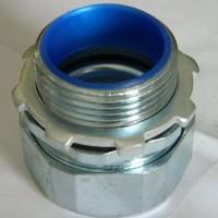 厂家销售变压器配套软管接头   包塑金属软管终端接头 端式箱接头   金属软管配套接头   管螺纹接头