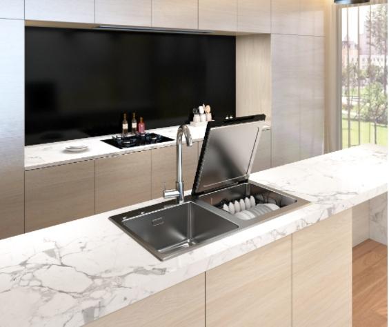 洁浦(JOYPOOL)洗碗机亮相国际厨卫展创新技术引爆全场